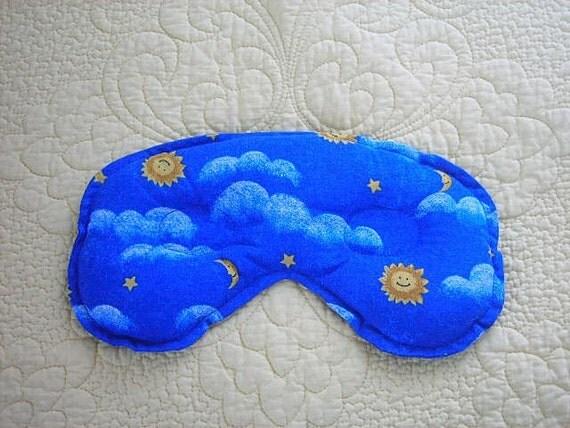 Sinus and Headache Relief Mask - Moon, Sun, Stars, Clouds