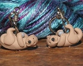 Sea Otter Stitch Markers (romp of 4)