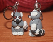 Lemur Stitch Markers (group of 4)