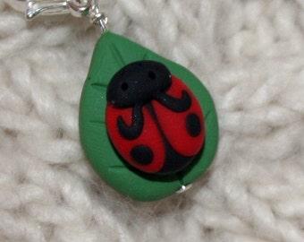 Ladybug Zipper Pull
