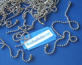 ball chains / 200 pieces / 6 inch size . large bulk set sale