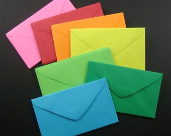 42 mini envelopes  for business cards and enclosures