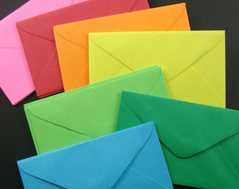 choose your color . 25 mini envelopes . special listing .