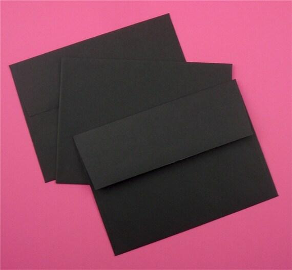 black A7 envelopes / 120 pieces . 10 dozen
