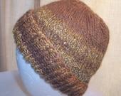 Handspun Alpaca/Icelandic Wool Hat