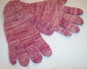 Handspun Hanknit Wool/Mohair Women's Gloves