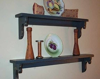 Tear Drop Ledge Shelves,  Your friends will want these.