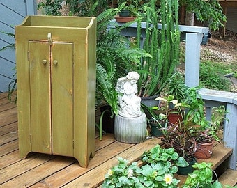 Two Door Storage Cabinet, Just right for small spaces.