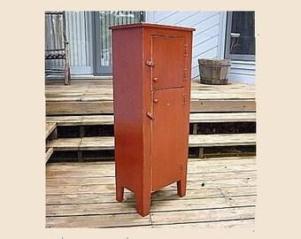 Two Door Linen Cabinet, Nice for extra storage.