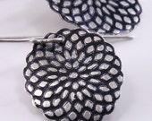 Spirograph Earrings