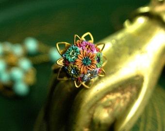 bon bon vivant - petite vintage cocktail ring