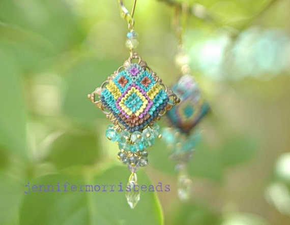 senggigi - tribal inspired earrings