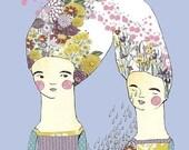 Edith and Edith, Print