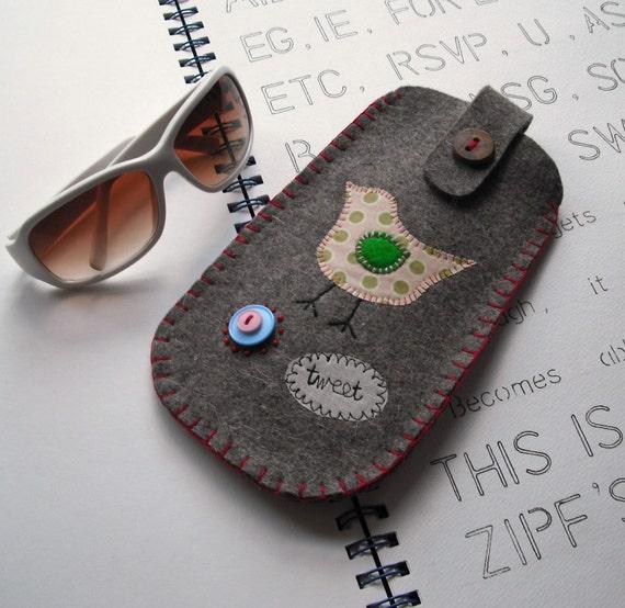 Birdy Sunglasses Case