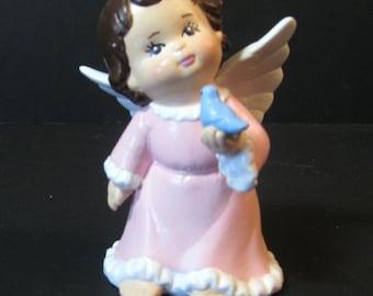 Angel With Blue Bird