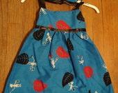 vintage style dress-SALE-EtsyKids