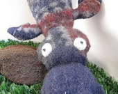 Plushie Platypus Recycled Wool Sweater Soft Toy