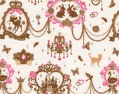 Fairyland Series in White - Japanese Fabric FQ