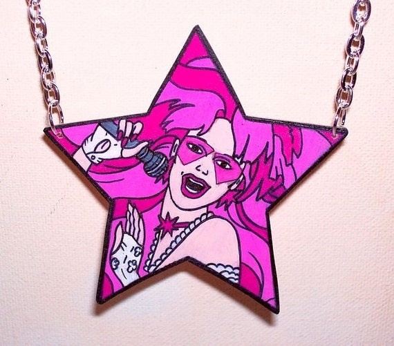 jem and the holograms star necklace
