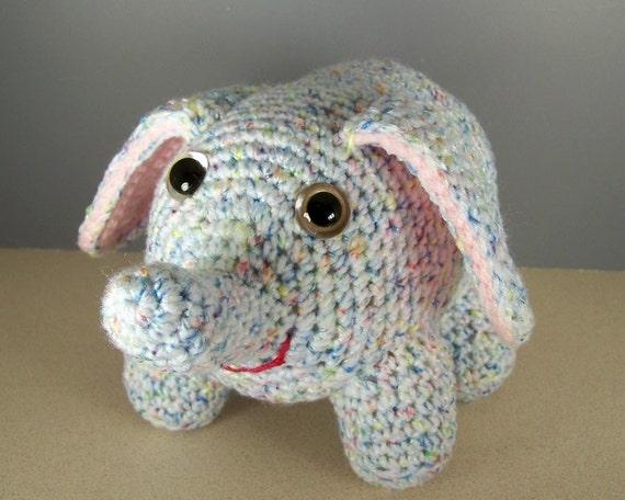 Crochet amigurumi elephant  - Elmira Elephant
