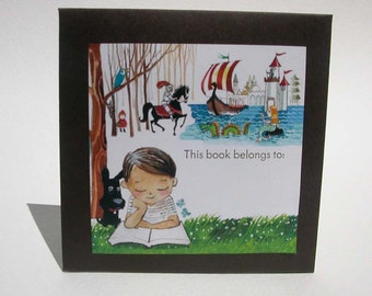 Kid's Bookplates -- Package of 18