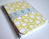 Lemon and Green Flat Notecard Set