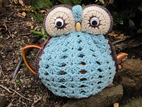 Owl Tea Cosy - made to order