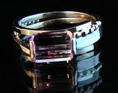 Share -  Bi-color Amethyst gemstone ring