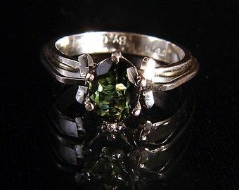 Evergreen -  Green Tourmaline ring