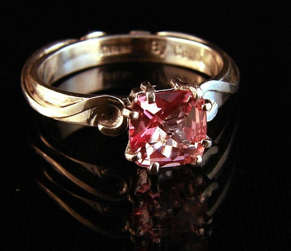 Sugar - Pink Topaz ring