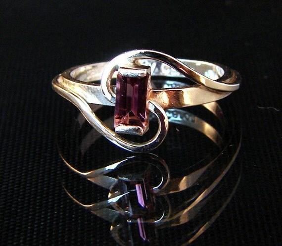 Blush - Pink Tourmaline ring