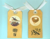 Bird and Nest Gift Tags