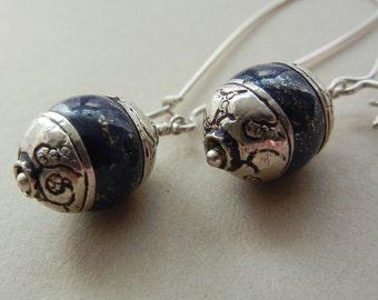 Lapis Calypso Earrings
