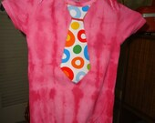 24 Months Infant  Tie Onesie - Business Casual Tie Dye Body Suit