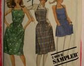 mccalls apron dress