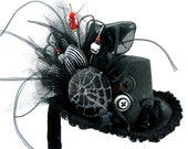 Black Widow... Mini Top Hat