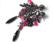 oOo reserved oOo The Wild Marasca Cherry Earrings by Eclettica