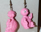 "The ""Waving Turtles"" Earrings Pierced Dangle"