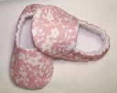 Cherry Blossom Toddler Slippers