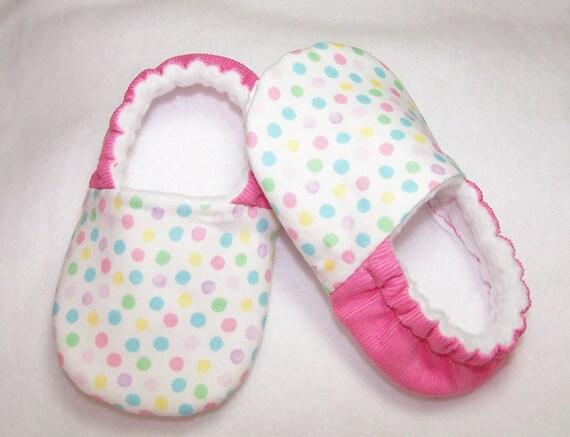 Confetti Dot Toddler Slippers