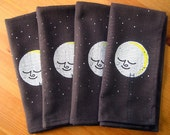 Ladder To The Moon Space Napkin Set of 4