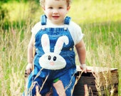 Boy's Easter Bunny O'All's
