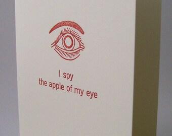 I Spy Love Note