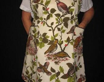Partridge in a Pear Tree Apron