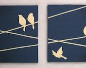 CUSTOM FOR leighfagin DO NOT BUY - Birds on Wires