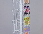 Note Greeting Card Display Rack 48 Pockets spinnter 4 7/8 4x6 A2 Notecards Floor New