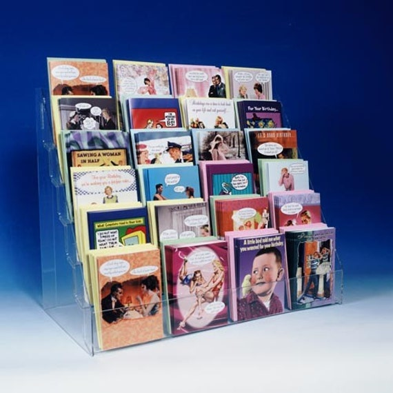 card rack  etsy, Greeting card