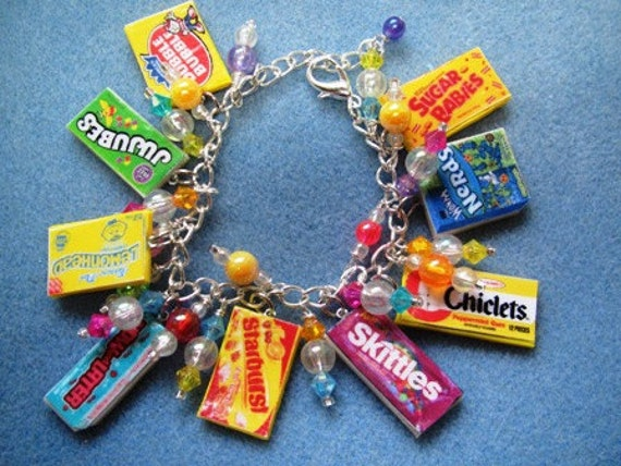 THREE Sweet Tooth Charm Bracelets - RESERVE Order for VOXFUGIT1