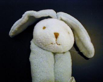 Blue Bunny Baby Blankie/Monogrammed Lovie/Angel Dear/Personalized Blankie/Security Blanket/Baby Blankie Gift/Animal Blankie