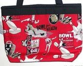 Red Retro Bowling Purse